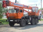 Аренда автокрана вездеход 25 т в Приморске, заказать, услуги
