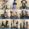 Коллекция африканских статуэток