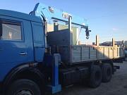 Манипулятор на базе Камаз в аренду 10 тонн