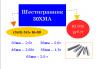 Акция на шестигранники 30ХМА