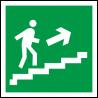 Знаки эвакуационные ГОСТ 2015 фотолюминесцентые (пленка и пластик).
