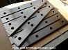 Ножи для гильотин 510х60х20мм от завода производителя в наличии на зав