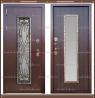 Входная дверь Джулия 1,8 мм Венге со стекло-пакетом :