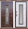 Входная дверь Джулия 1,8 мм Сандал белый со стекло-пакетом