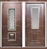 Входная дверь Диана 1,8 мм Венге со стекло-пакетом