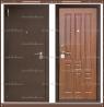 Входная дверь XL Мини 1900 х 960 Тёмный орех Россия