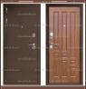 Входная дверь XL 2200*960 Тёмный орех Россия