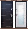 Входная дверь Роста NEW зеркало Медный антик / Белёный дуб 80 мм., Рос
