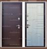 Входная дверь Атлант 1,8 мм Медный антик / Сосна прованс 100 мм. Росси