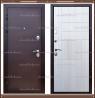 Входная дверь Вега Медный антик / Беленый дуб 100 мм. Россия :