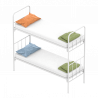 Металлические кровати одноярусные и двухъярусные с бесплатной доставко
