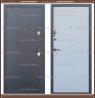Входная дверь Стела Серый букле / Белое дерево 85 мм. Россия :