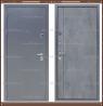 Входная дверь Торино Тёмно-серый букле / Бетон 100 мм. Россия :