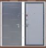 Входная дверь Торино Тёмно-серый букле / Роял Вуд Серый 100 мм. Россия