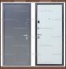 Входная дверь Торино Тёмно-серый букле / Роял Вуд Арктик 100 мм. Росси