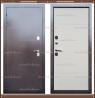 Входная дверь Терма 1,8 мм Дуб беловежский (белый) 105 мм с терморазры
