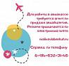 В ООО «Агентство Беркут» (ТЦ Новомариинский) требуется авиакассир