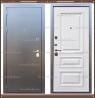 Входная дверь Версаль Антик серебро / Дуб беловежский 90 мм Россия